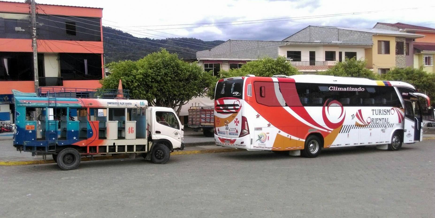 Autobusem przez Ekwador