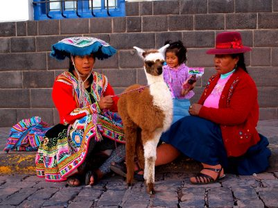In the capital of the Incas